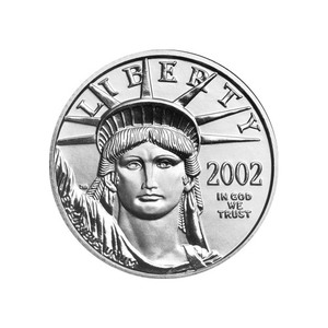 1/4 oz 2002 American Eagle Platinum Coin