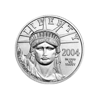 1/4 oz 2004 American Eagle Platinum Coin