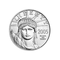 1/4 oz 2005 American Eagle Platinum Coin