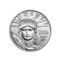 1/4 oz 2006 American Eagle Platinum Coin