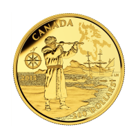 1/2 oz 2015 Henry Hudson Gold Coin