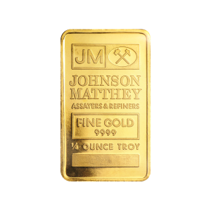 1/4 oz Johnson Matthey Gold Bar