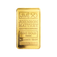 1/4 oz Goldbarren Johnson Matthey