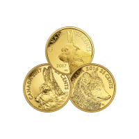 0.5 gram RCM Assorted Commemorative Gold Coin