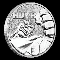 Pièce d'argent Hulk 2019 de 1 once