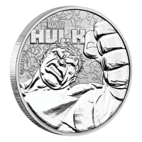 1 oz 2019 Hulk Silver Coin