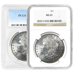 1878-1904 Morgan Silver Dollar MS-65 Silver Coin