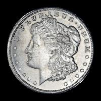 Pièce d'argent Morgan Silver Dollar AU 1878-1904