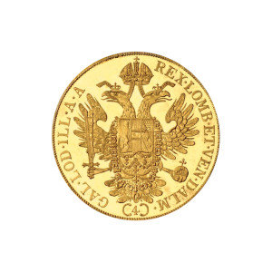 Random Year Austrian-Dutch 4 Ducat BU Gold Coin