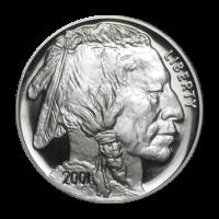 1 oz 2001 Buffalo Proof Silver Coin