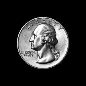 Random Year Washington Quarter Dollar 90% Pure Silver Coin