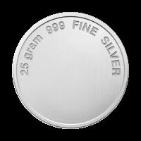 25 gram Assorted Silver Round
