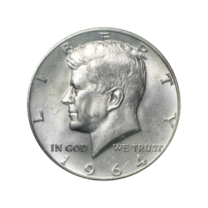 Kennedy Half Dollar 90% Pure Silver Coin