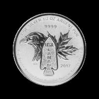 1/2 oz 2017 Devil's Brigade Silver Coin