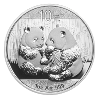 1 oz 2009 Chinese Panda Silver Coin