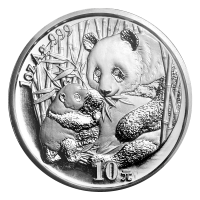 1 oz 2005 Chinese Panda Silver Coin