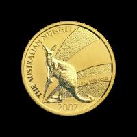 1/2 oz 2007 Australian Kangaroo Nugget Gold Coin