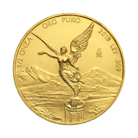 1/2 oz 2019 Mexican Libertad Gold Coin