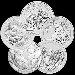 1 kg | Kilo Perth Mint Random Year Koala Silver Coin