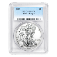 1 oz 2015 American Eagle NGC MS-70 First Release Silver Coin