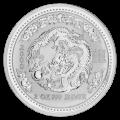 2 oz 2000 Lunar Year of the Dragon Silver Coin
