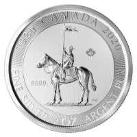 2 oz 2020 Royal Canadian Mounted Police Silver Coin