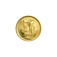 1/10 oz Random Year Britannia Gold Coin