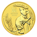 1 oz 2020 Perth Mint Lunar Year of the Mouse Gold Coin