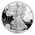 1 oz 2007 American Eagle Proof Silver Coin