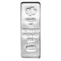100 oz PAMP Suisse Silver Bar