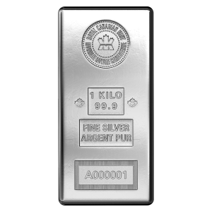 1 kg | kilo Royal Canadian Mint Silver Bar