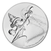 1 oz 2019 Disney Mickey Mouse Fantasia Silver Coin