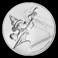 1 oz 2019 Disney Mickey Mouse Fantasia Silver Coin