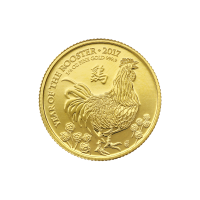1/4 oz 2017 The Royal Mint Lunar Year of the Rooster Gold Coin