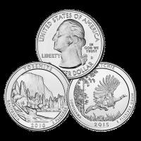 Random Year $0.25 U.S. Commemorative Quarter 90% Silver Coin