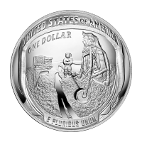 1 oz 2019 Apollo 11 | 50th Anniversary Proof Silver Coin