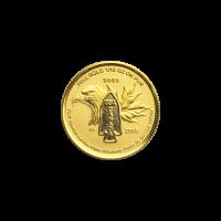 1/10 oz 2014 Devil's Brigade Gold Coin
