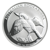 1 oz 2011 Australian Kookaburra Silver Coin