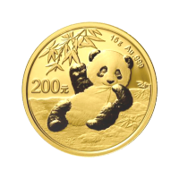 15 gram 2020 Chinese Panda Gold Coin