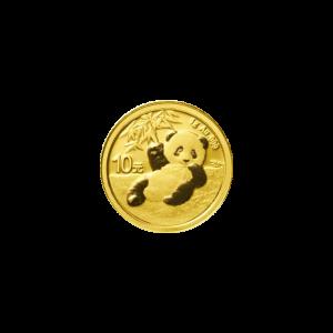 1 gram 2020 Chinese Panda Gold Coin