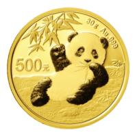 30 gram 2020 Chinese Panda Gold Coin
