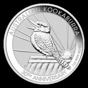 1 oz 2020 Australian Kookaburra Silver Coin