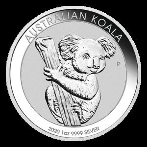 1 oz 2020 Australian Koala Silver Coin