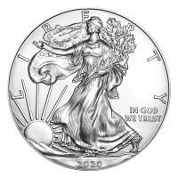 1 oz 2020 American Eagle Silver Coin