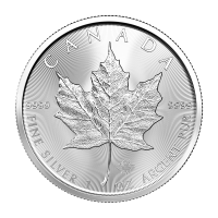 1 oz 2020 Canadian Maple Leaf Sølvmynt