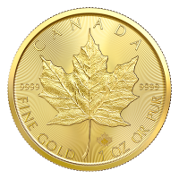 1 oz 2020 Canadian Maple Leaf Gullmynt