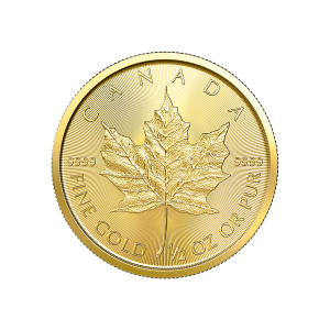 1/2 oz 2020 Canadian Maple Leaf Gold Coin