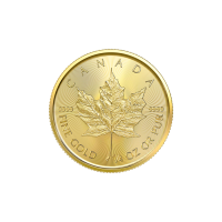 1/4 oz 2020 Canadian Maple Leaf Gold Coin