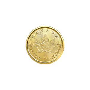 1/20 oz 2020 Canadian Maple Leaf Gold Coin