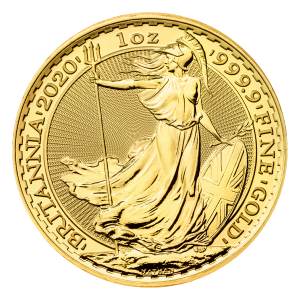 1 oz 2020 Britannia Gold Coin